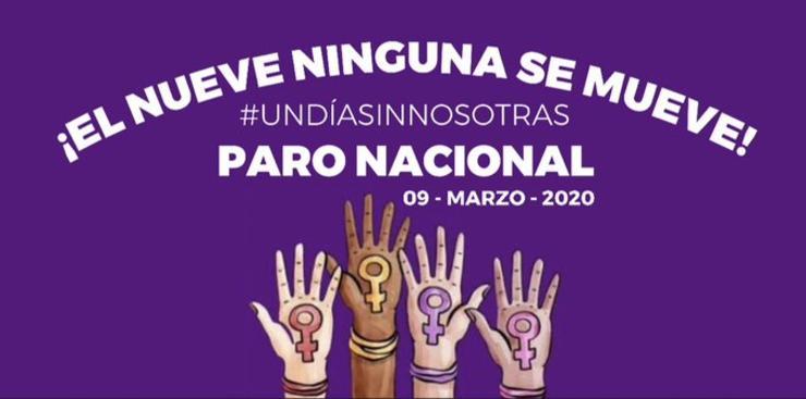 Paro Nacional - ¡El Nueve Ninguna se Mueve!