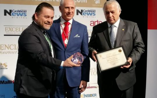 Recibe Tamaulipas Premio 'Excelencias Turísticas', en Madrid, España