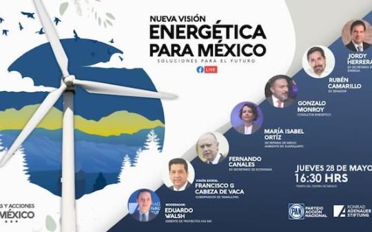 Participará CDV, hoy, en Foro Energético invitado por CEN del PAN y K.A.S